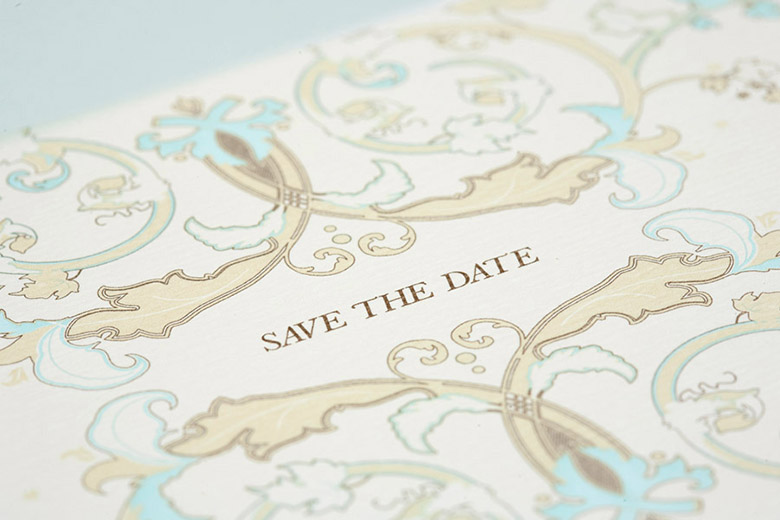 Invitaciones con SAVE THE DATE