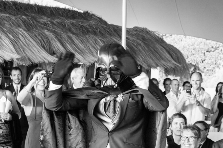 wedding darth vader