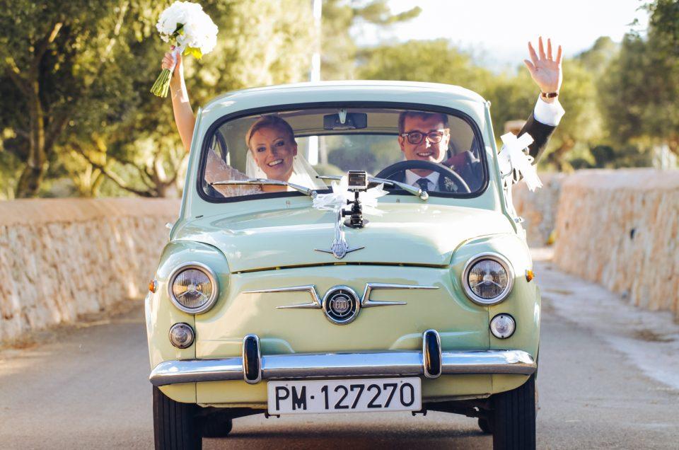 MAUDE & NICOLAS. Mediterranean wedding