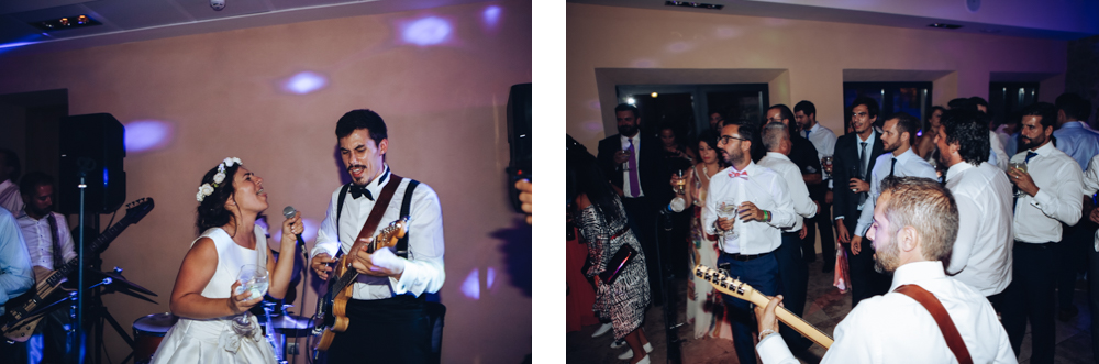 guitar groom wedding