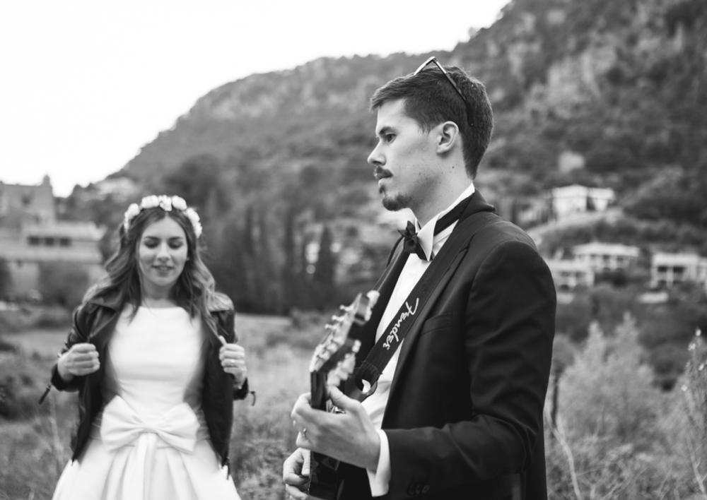 rock wedding mallorca Hochzeit