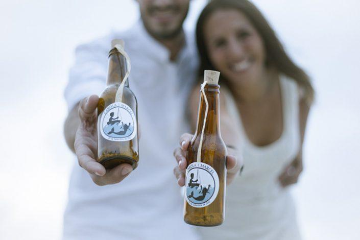 CAROLA Y MARCEL. Una boda con el mar de fondo