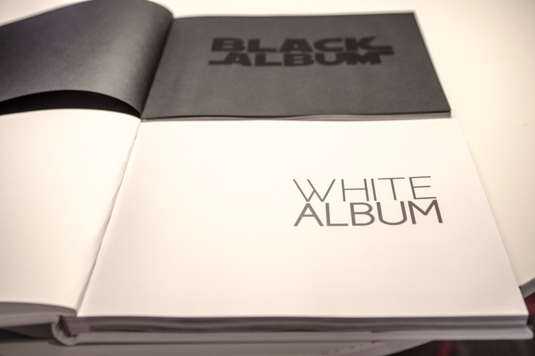 wedding book black
