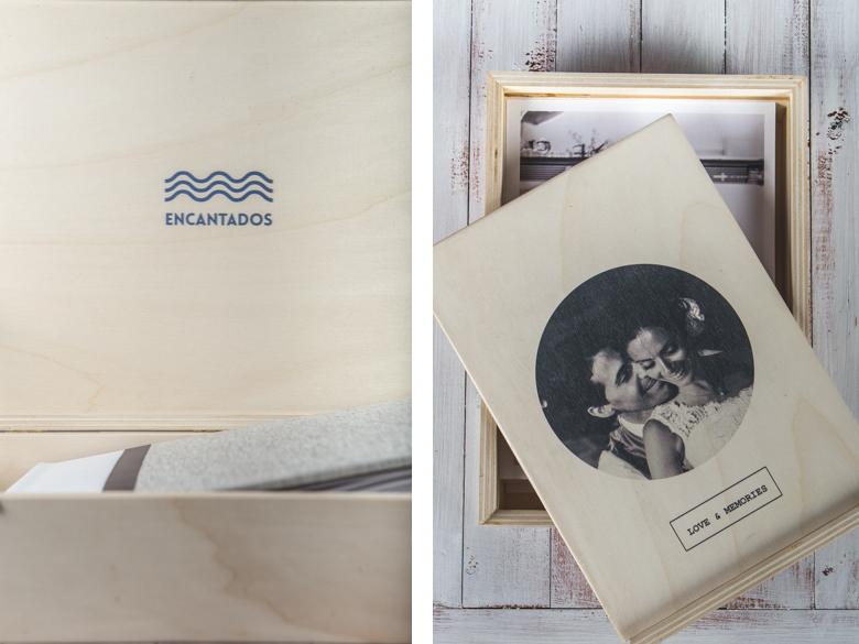 album boda madera