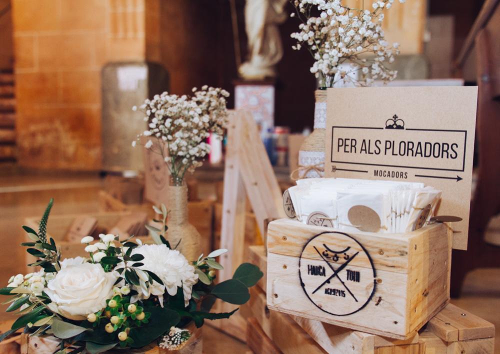 detalles iglesia boda mallorca
