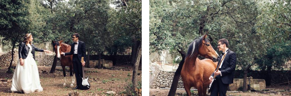 postwedding horse mallorca Hochzeit